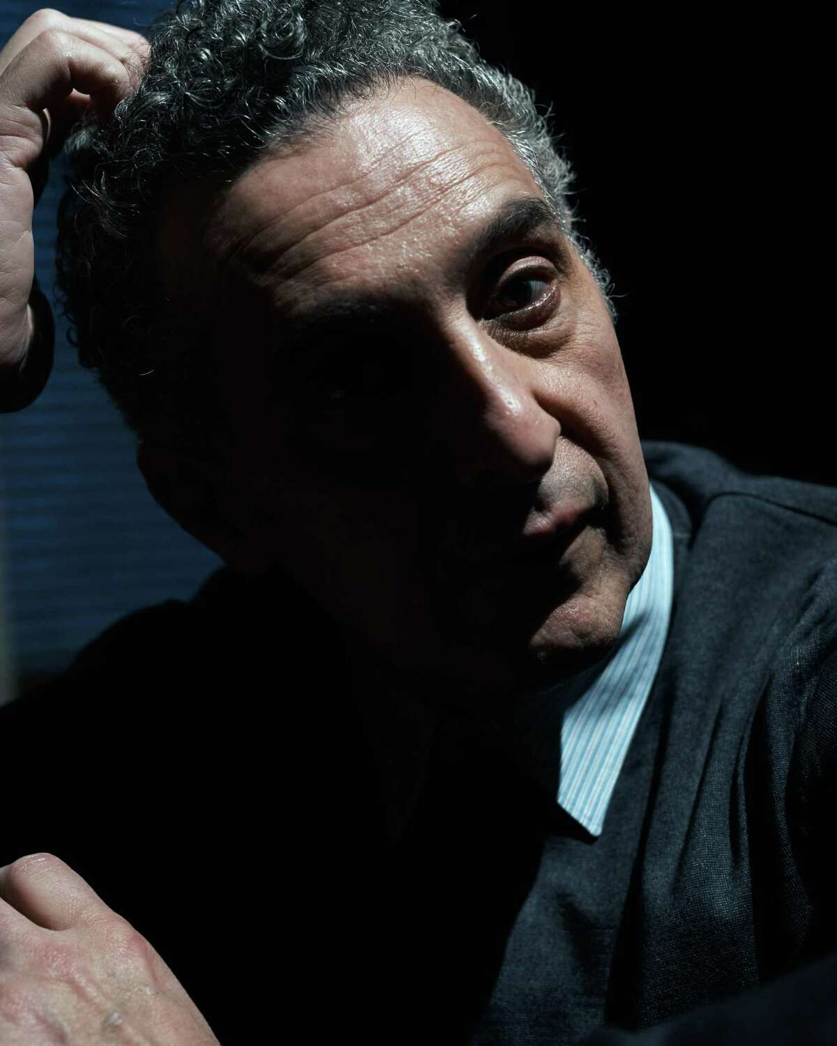 The actor John Turturro at his home in Brooklyn on Jan. 28, 2020. In his new film,