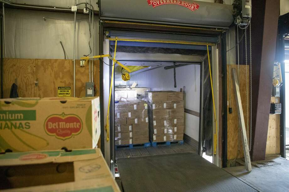 H-E-B dropped off a load of 56,000 pounds of protein Wednesday, March 18, 2020 at the West Texas Food Bank in Odessa. Jacy Lewis/Reporter-Telegram Photo: Jacy Lewis/Reporter-Telegram