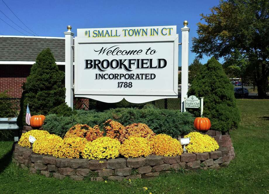 File photo of a Brookfield welcome sign. Photo: Contributed Photo / Contributed Photo / The News-Times Contributed