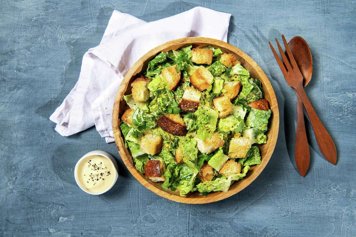 Sprinkle these croutons on a Caesar or any other salad. (Mariah Tauger/Los Angeles Times/TNS)