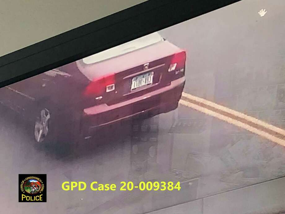 A video image of a car used in a robbery Wednesday in Byram. Photo: / GPD