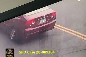 A video image of a car used in a robbery Wednesday in Byram.