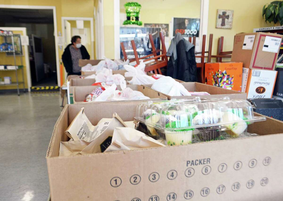 The St. Vincent de Paul Middletown Amazing Grace food pantry is located at 16 Stack St.