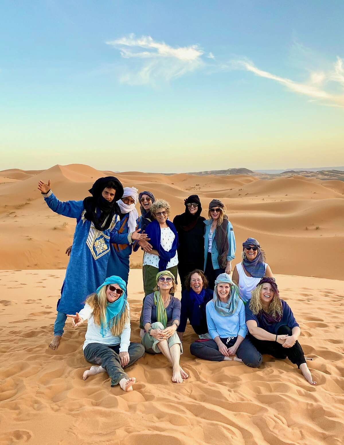 Tessa Matisis Smith and her 10 friends enjoy Morocco the country locked its borders over coronavirus fears.