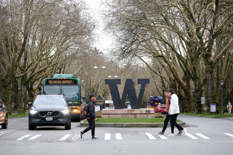 The University of Washington this week announced its 2020 graduation ceremony would be moved online for a virtual event and part of its summer quarter classes would be offered remotely. Photo: Karen Ducey/Getty Images