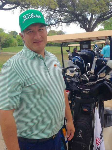 Patrick Gonzalez feels golf is still safe because it's played outdoors. As an outdoor activity that lets participants keep a safe distance from each another, golf goes on in San Antonio even after Mayor Ron Nirenberg's emergency declaration prohibiting gatherings of 50 people or more.