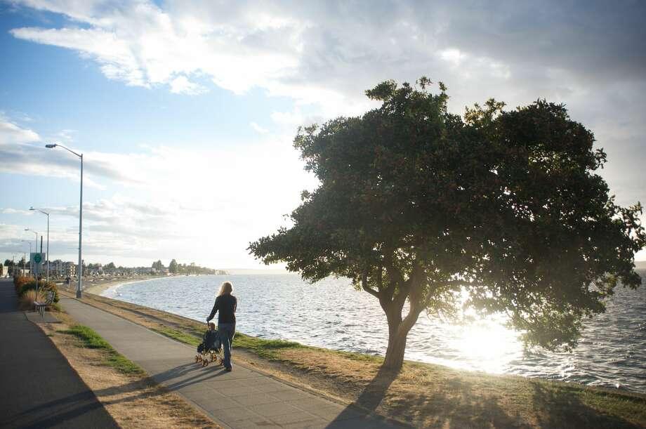 While social distancing is the recommended practice for the time being, you can still enjoy a stroll along the water or through the trees.
