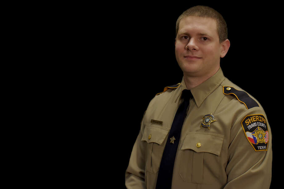 Sr. Dep. Christopher Korzilius with the Travis County Sheriff's Office was killed in the line of duty Wednesday morning after a traffic crash near Austin. Photo: Travis County Sheriff's Office