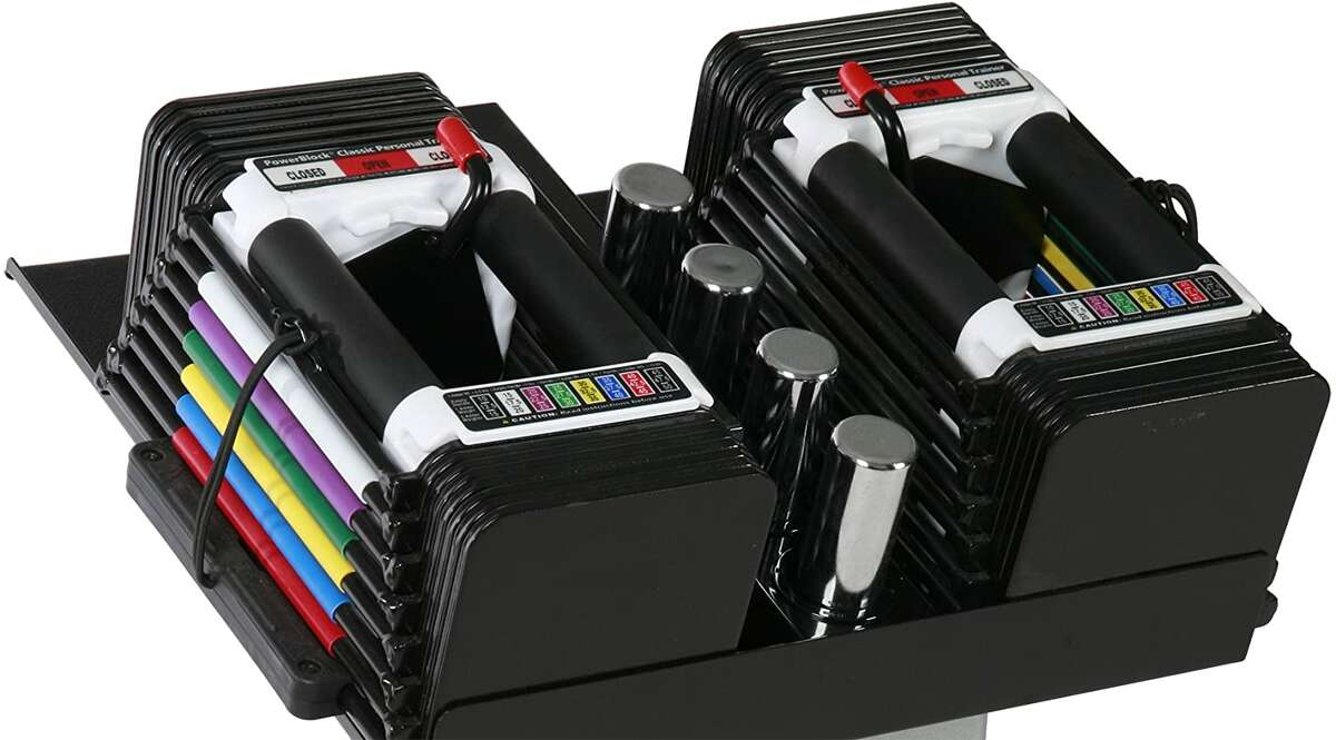 PowerBlock Personal Trainer Adjustable Dumbbell Set, $285.41