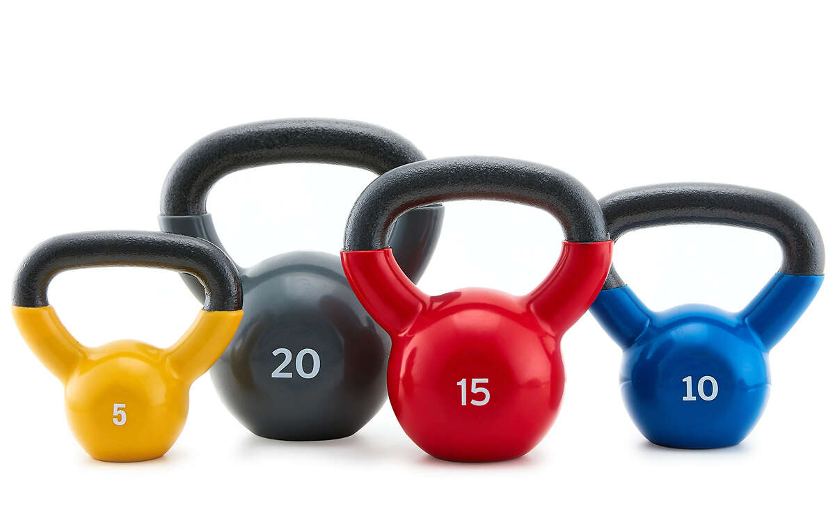 XPRT Fitness 50-Pound Kettlebell Set, $49.99 (Normally $59.99)