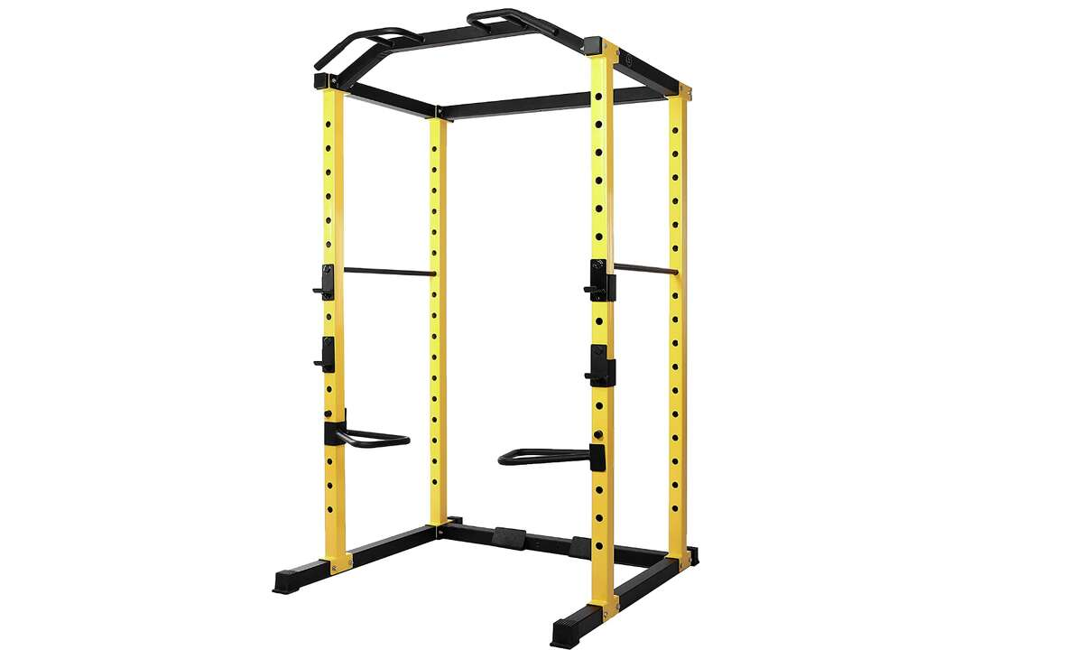 HulkFit 1000-Pound Capacity Multi-Function Adjustable Power Cage, $319.99