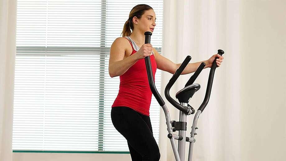 Sunny Health & Fitness Elliptical Cross Trainer, $140.88 Photo: Amazon