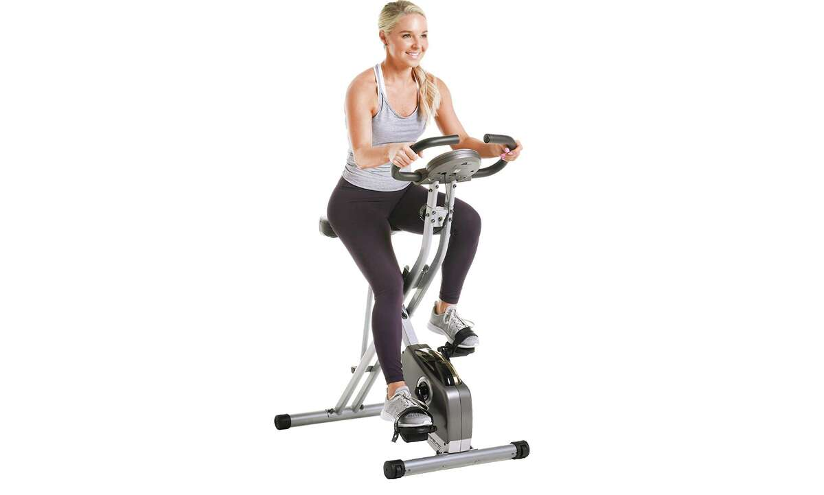 Exerpeutic Folding Magnetic Upright Exercise Bike, $149.99 (Normally $199.99)