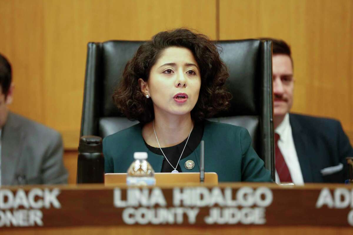 Harris County Judge Lina Hidalgo will present a State of the County address at a virtual event hosted by the Greater Houston Partnership on Thursday.
