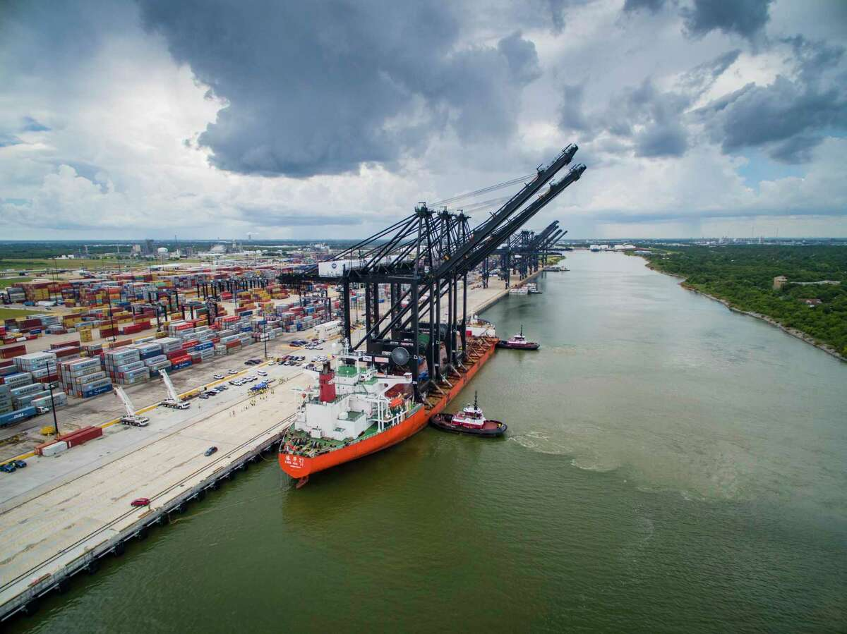 Port Houston closed two terminals Wednesday night after a worker tested positive for COVID-19.