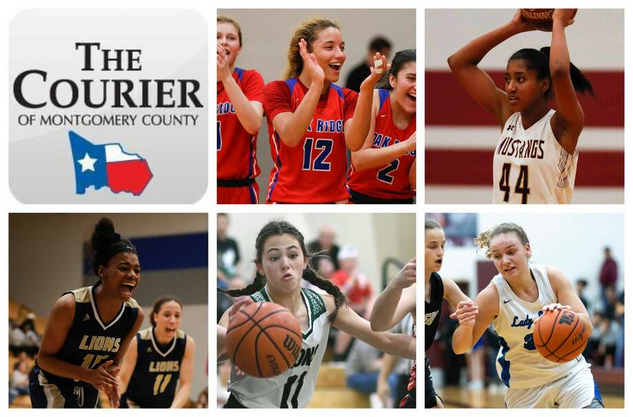 Oak Ridge's Mersadez Nephew, Magnolia West's Kamryn Jones, Lake Creek's Taliyah McShan, Legacy Prep's Maddie Steed and New Caney's Abigail Lynch are The Courier's nominees for Offensive MVP. Photo: Staff Photos