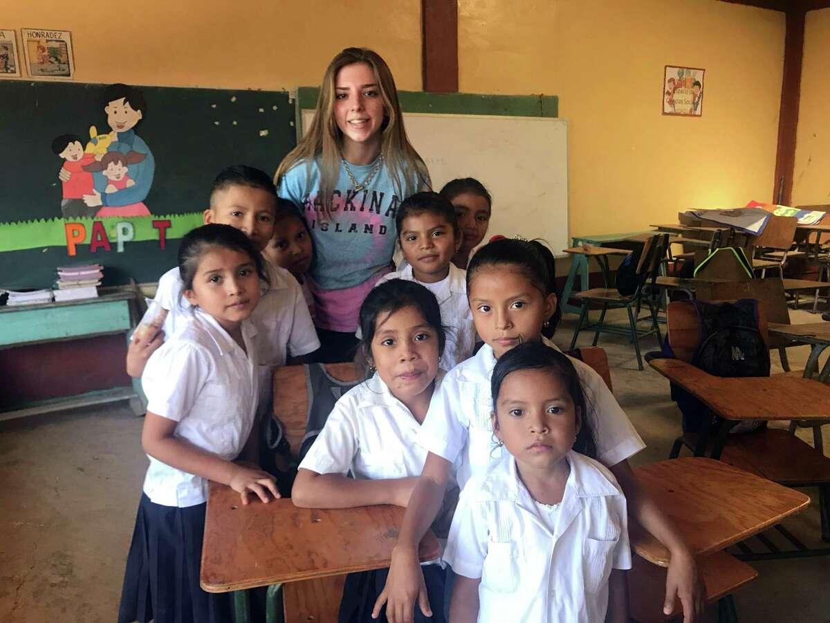 Staples junior Lindsey Baldwin joined a dozen dentists and doctors in delivering dental and medical care to Honduras in February.