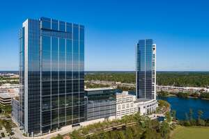 The newly rebranded The Woodlands Towers at The Waterway is owned by The Howard Hughes Corp.