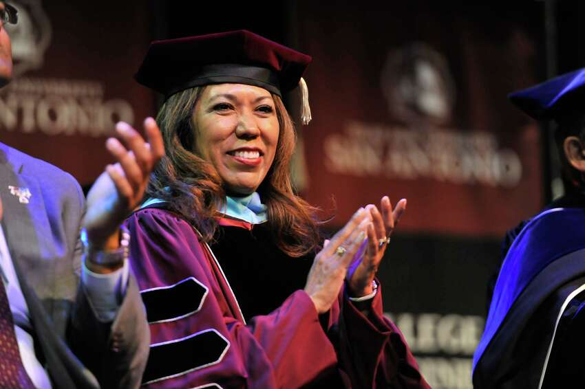 Dr. Cynthia Teniente-Matson, President of Texas A&M University-San Antonio Dear Class of 2020, Congratulations, graduates! I know that your high school years didn't end the way that you expected them to but I hope you won't let that diminish your pride in your accomplishments or your excitement about the next phase of your lives. While there is much that remains uncertain and the impacts of COVID-19 will remain with us for the foreseeable future, I am confident that you will be well served by the determination, flexibility and tenacity that you have shown by successfully completing your senior year in the most daunting of circumstances. I am incredibly proud of each of you and look forward to seeing the mark you will make on the world, and to seeing how you take the experiences of the last few months, learn from them, and shape the future of San Antonio and the world beyond our community. Again, congratulations, abrazos and best wishes for a bright future!