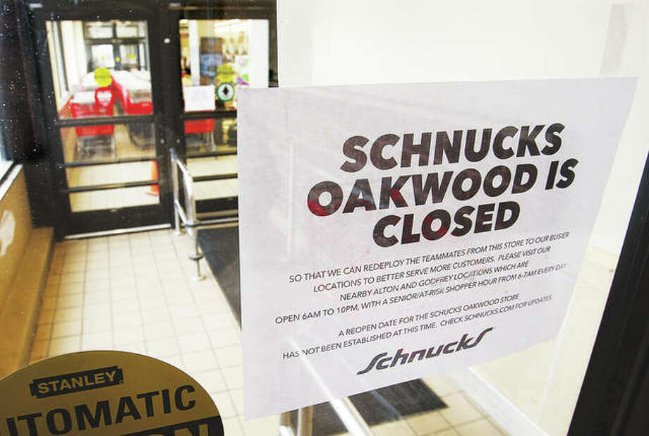 The Schnucks store at 1721 Home Adams Parkway in Alton, also known as the Oakwood store, has closed to send workers to help at other Schnucks locations. Many people may know the location as the former Alton Shop n Save store.