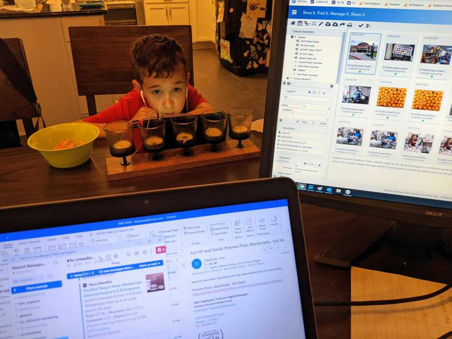 Readers Show Their Work From Home Set Ups Amid Coronavirus Is The