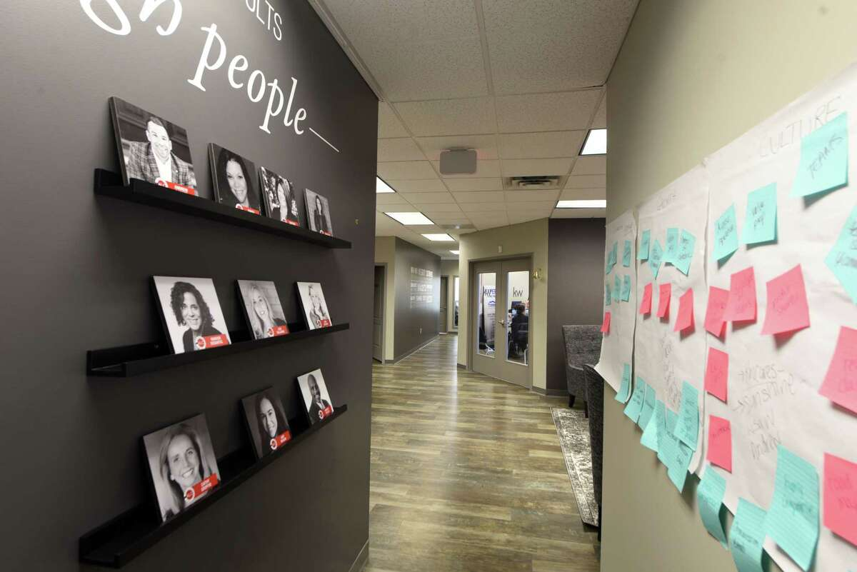 Interior of the Keller Williams Realty Capital District offices on Thursday, March 5, 2020, in Colonie, N.Y. (Will Waldron/Times Union)