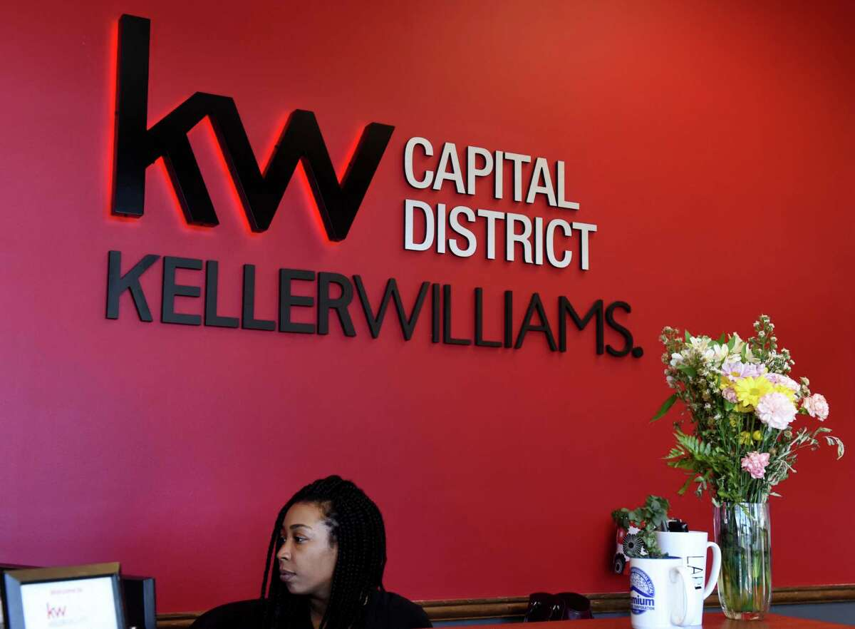 Lobby at the Keller Williams Realty Capital District offices on Thursday, March 5, 2020, in Colonie, N.Y. (Will Waldron/Times Union)