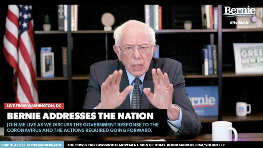 "Bernie Sanders must explain how he went from hardline Nativist Bernie to the person Rep. Alexandria Ocasio-Cortez, D-N.Y., calls ""Tío Bernie."" Photo: BernieSanders.com /Associated Press / Copyright 2020 The Associated Press. All rights reserved."