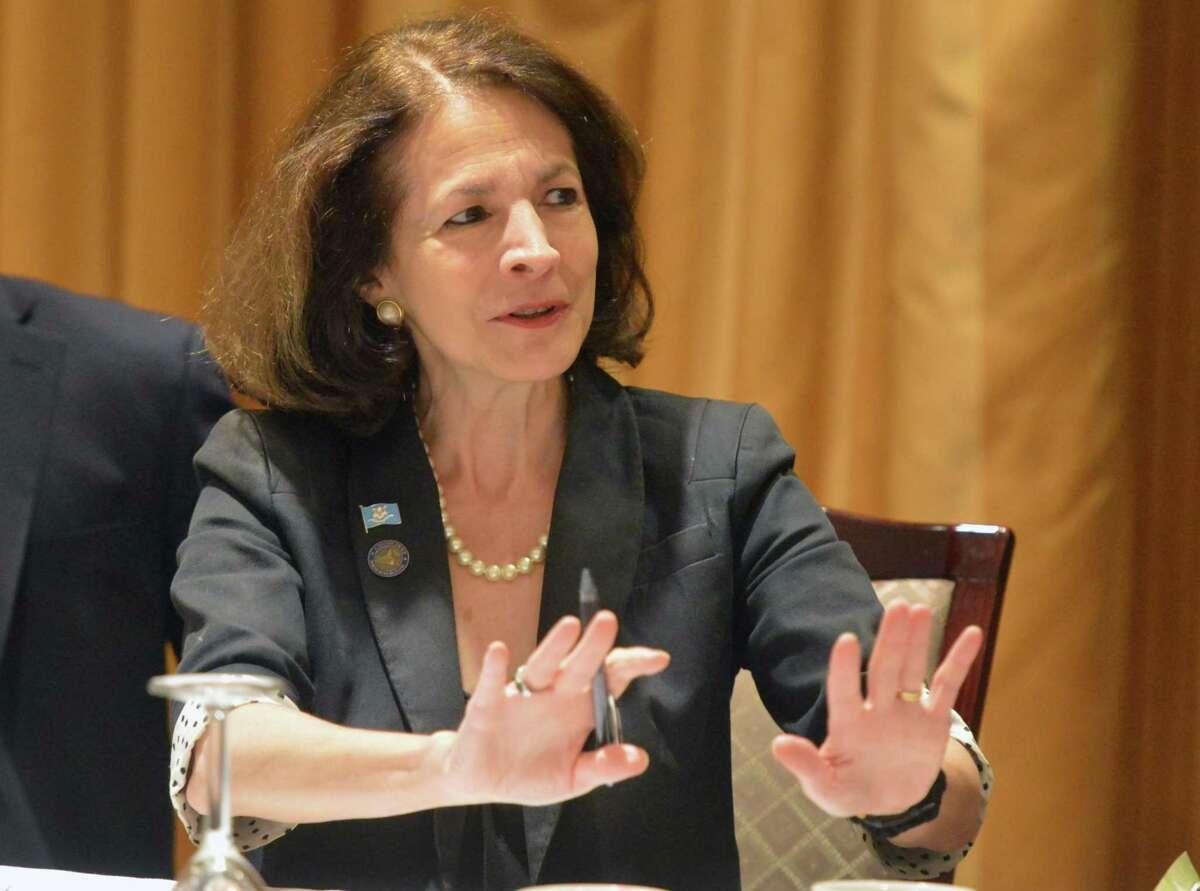 State Representative Gail Lavielle, R-Wilton .