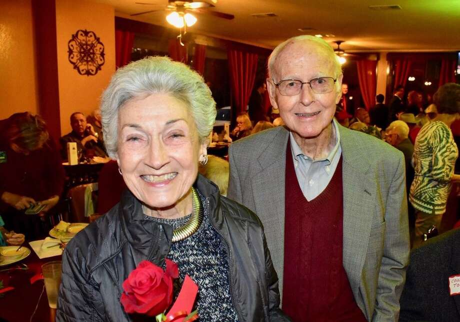 "Neddie Jane Wilkerson and Dr. Walter ""Wally"" Wilkerson are pictured at a recent function. Neddie Jane passed away on Wednesday evening following a stroke. Photo: Courtesy Photo"