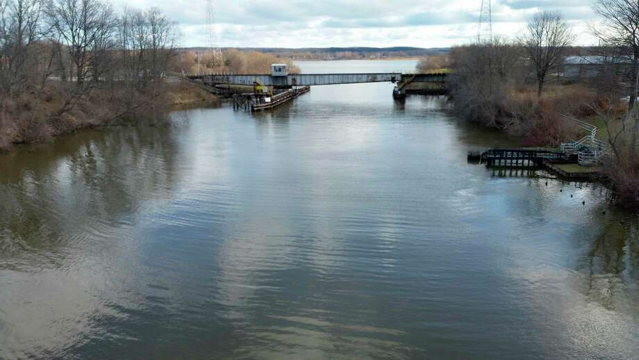 The remediation work of Consumers Energy's Jones Street property is set to continue with river dredging work in the Manistee River next month. (File photo)