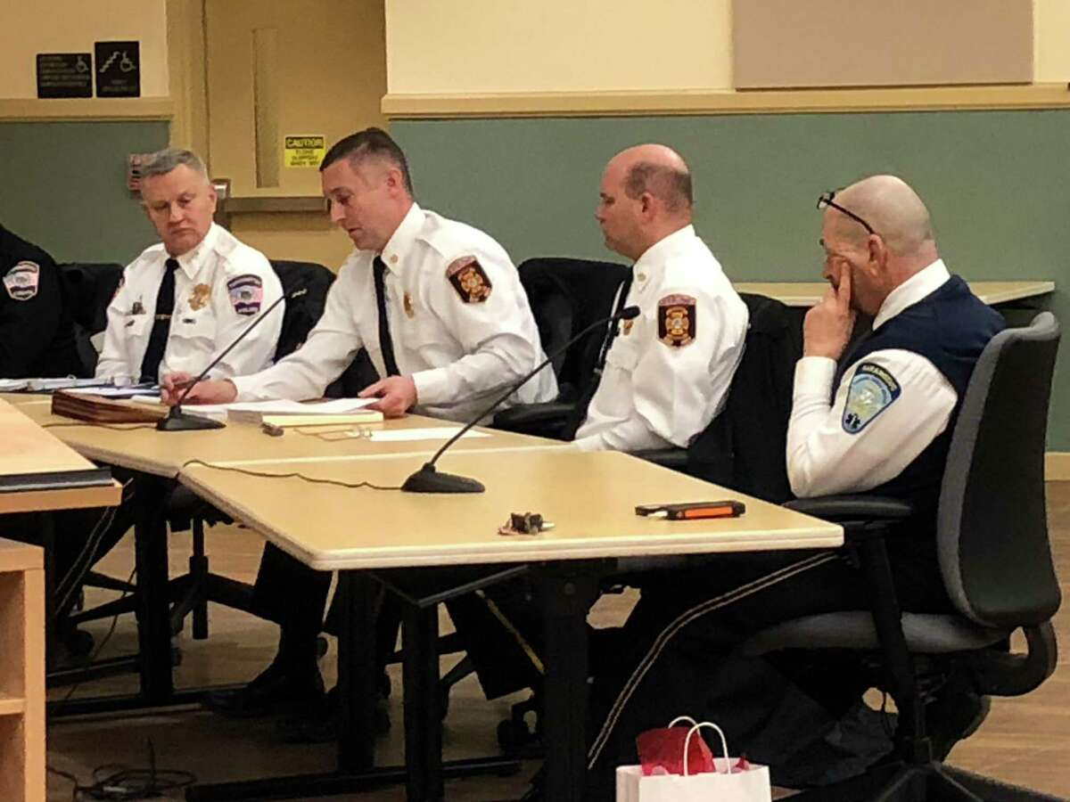 Torrington Fire Chief Peter Towey, second from left, is also the city's emergency management director.
