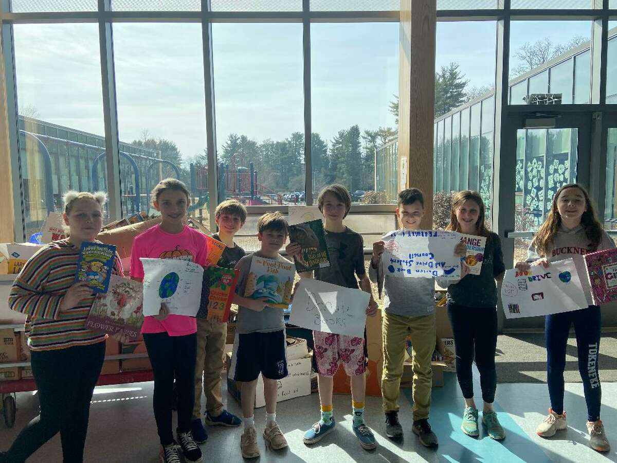 Thanks to the students and families of Tokeneke School, the book drive was a huge success and yielded a record-number 5,836 gently-used books for the non-profit.
