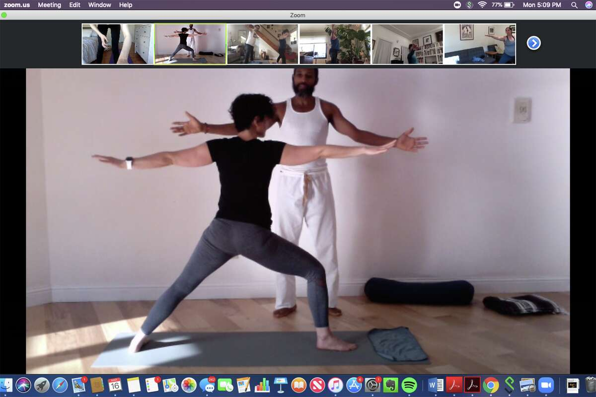 On Monday, Square One Yoga, which has locations in Emeryville, El Cerrito, San Leandro and Oakland, announced it would be going 100 percent virtual. Instead of meeting in person, instructors would teach classes via Zoom.