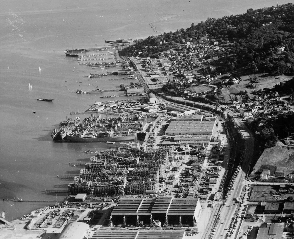 Marinship shipyard in Marin City turned out a tanker every 43 days during the height of World War II and also changed the character of Sausalito.