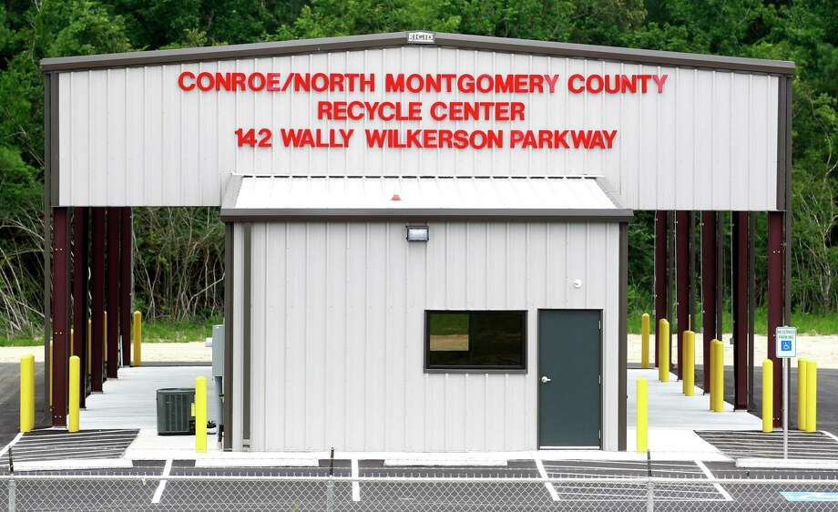 The Conroe City Council agreed earlier this month to increase their funding of the Conroe/North Montgomery County Recycle Center to help with costs as the demand for the facility increases. Photo: Jason Fochtman, Staff Photographer / Houston Chronicle / © 2017 Houston Chronicle