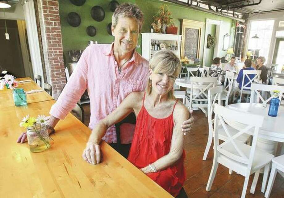 Glenn and Terri Beaubien are the new owners of State Street Market at 208 State Street in downtown Alton. The couple offers a European-style cafe and market and is easy to find near the foot of State Street. Photo: John Badman | Telegraph File Photo