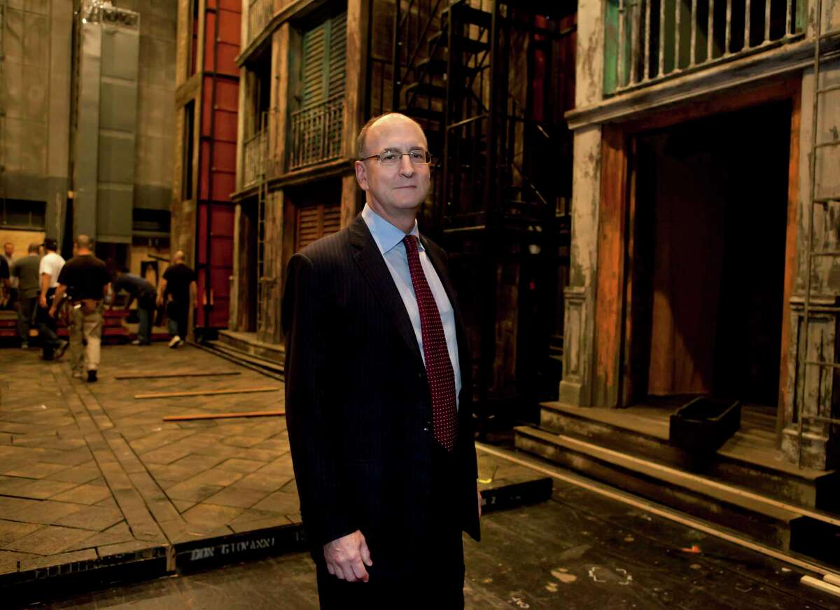 FILE -- Peter Gelb, the Metropolitan Opera's general manager, at the opera house in New York, on Oct. 7, 2011. Opera News, a leading classical music magazine published by a Met fundraising affiliate, said on Monday, May 21, 2012, that it would stop reviewing the Metropolitan Opera. (Sara Krulwich/The New York Times)