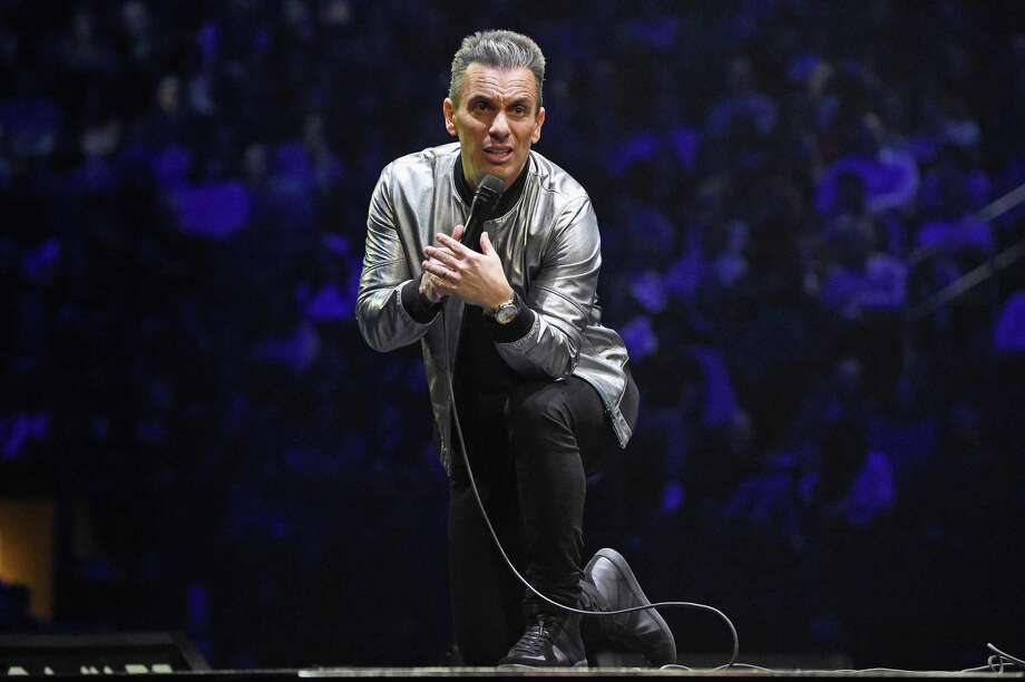 "Sebastian Maniscalco during his ""Stay Hungry"" tour, in New York at Madison Square Garden. Photo: Kevin Mazur / Getty Images / 2019 Kevin Mazur"
