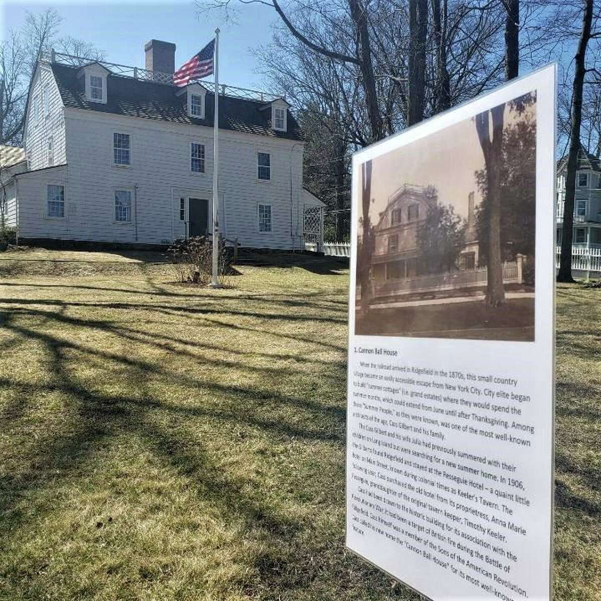Here is information about what is happening in Ridgefield including a self-guided walking tour at the Keeler Tavern Museum and History Center.