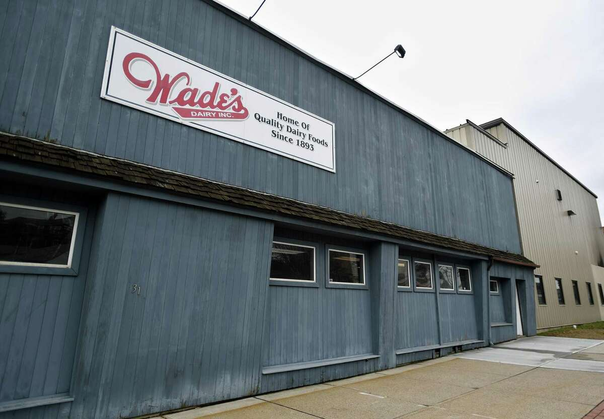 Wade's Dairy at 1316 Barnum Avenue in Bridgeport, Conn. on Thursday, March 19, 2020.
