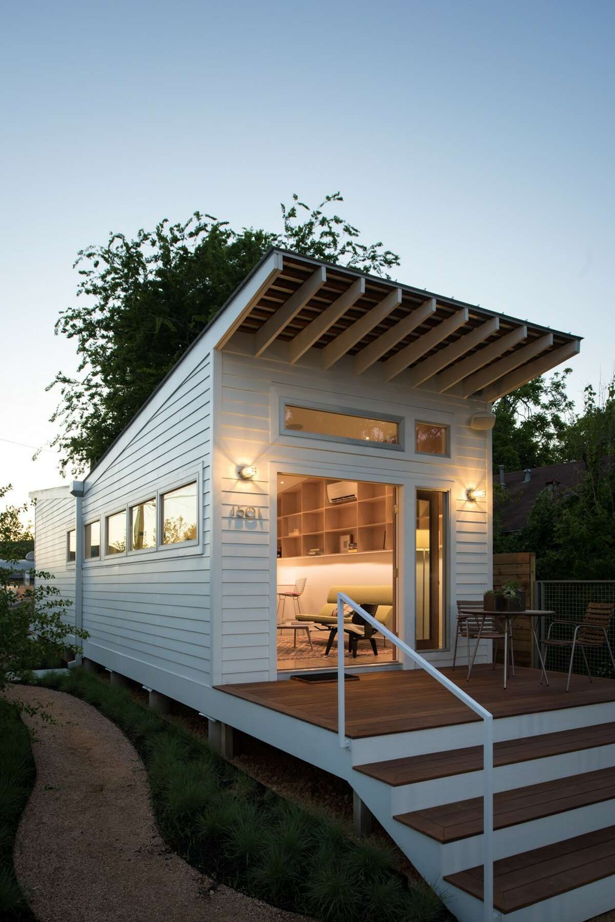 Diminutive homes with a sleek, clean design have become architect Brett Zamore's signature style. A tiny home community is now flourishing in Houston's East End Revitalized.