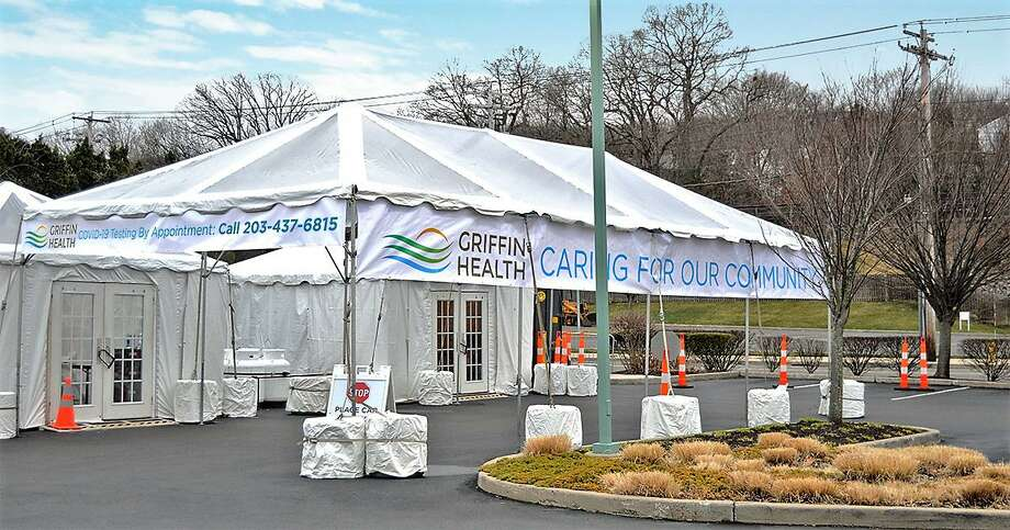 """Griffin Hospital in Derby has received state approval to become a designated """"drive-through"""" testing site for the coronavirus. Photo: Contributed Photo"""