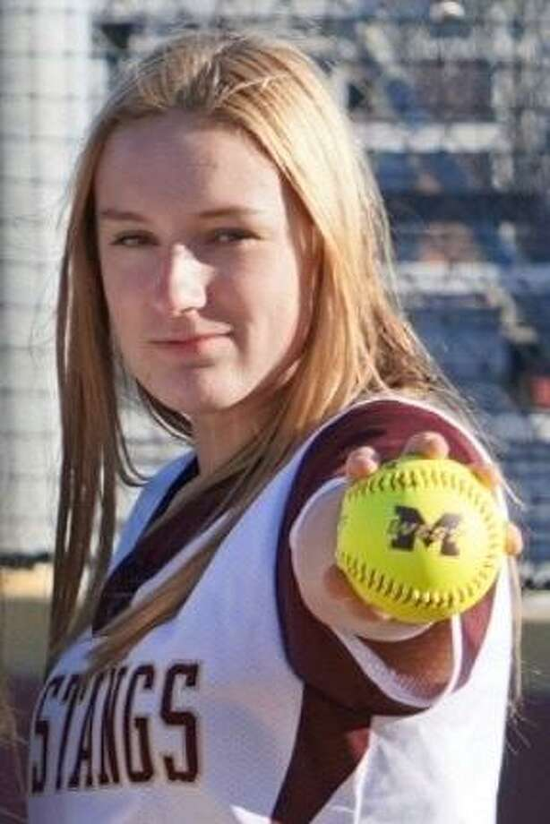 Magnolia West softball player Makaila Laroche says her cousins have had the greatest impact on her softball career. Photo: Submitted