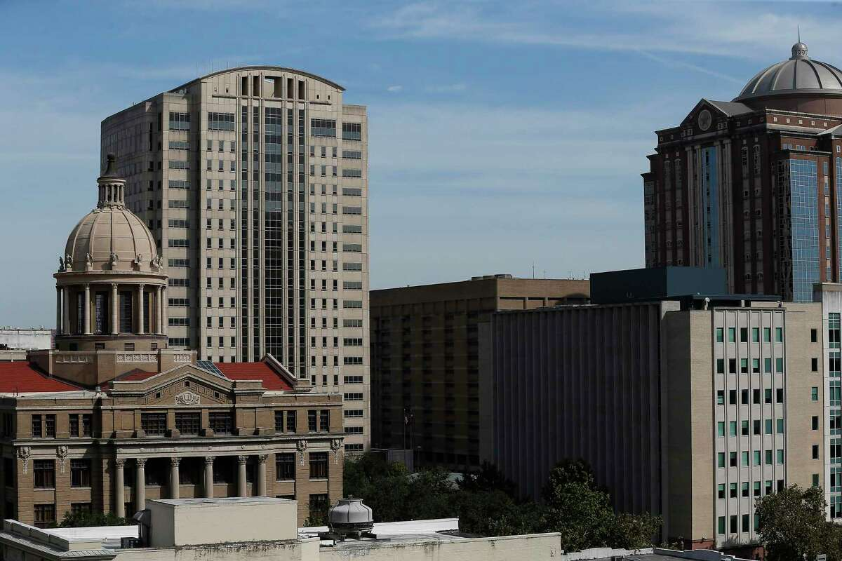 The Harris County Criminal Courthouse at 1201 Franklin is pictured in this file photo.