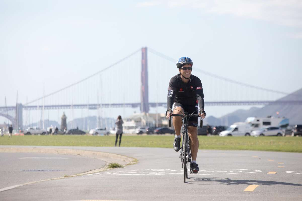 Biking is also OK since it maintains social distancing.