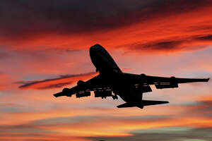 International airline service is flying into the sunset next week and facing an uncertain future.