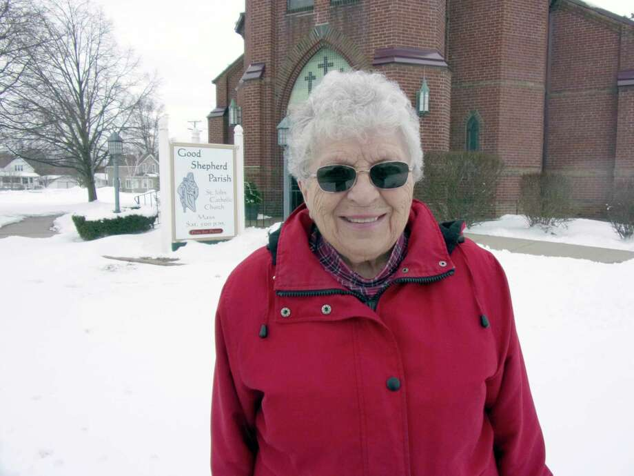 MarleneBukoski has deep ties to the Ubly area andis a member of theChristian Mothers Organization, a lector in the Good Shepherd Parish and has been a eucharistic minister for 40 years or more.(Rich Harp/For the Tribune)