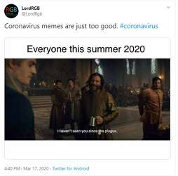 Coronavirus Memes Explain How Social Media Users Are Feeling About