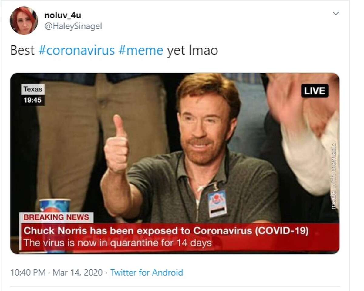 Twitter users explain how they feel about the coronavirus outbreak, in meme form.